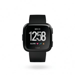 Смарт часовник Fitbit VERSA BLACK/BLACK FB505GMBK , 1.34